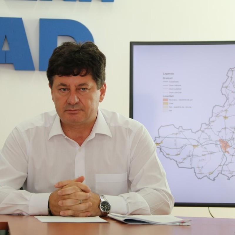 Iustin Cionca: Am legat între ele, cu drumuri modernizate, orașele din județ