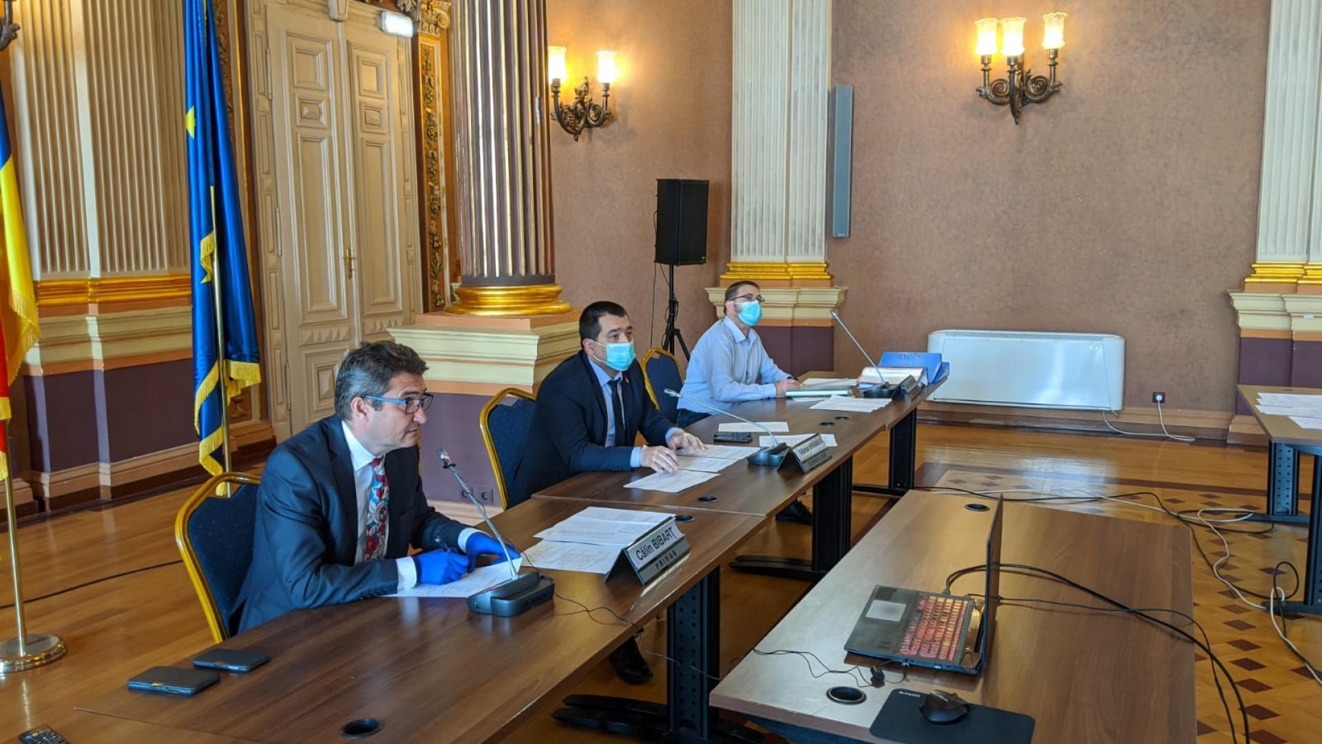 Ședința ordinară a Consiliului Local al Municipiului Arad