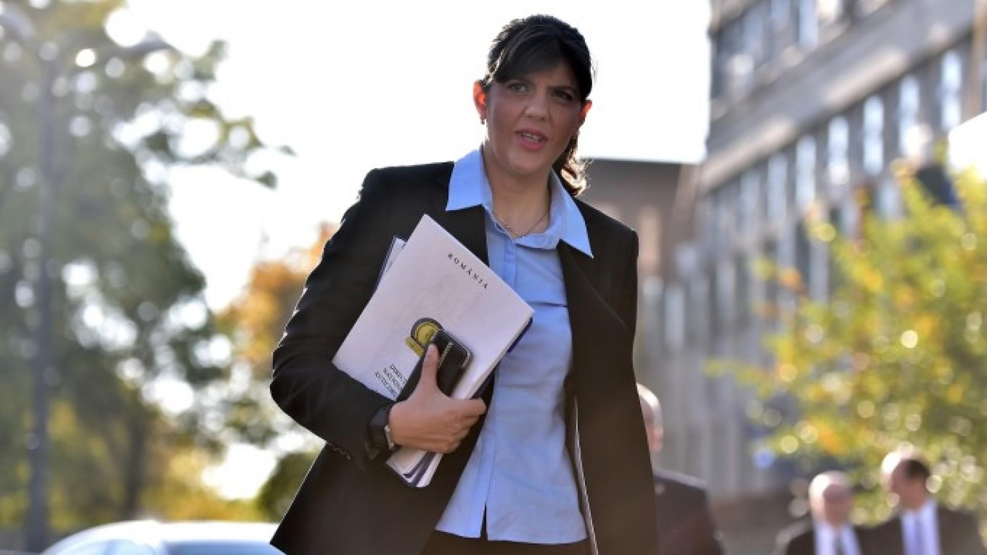Laura Codruţa Kovesi a câștigat procesul la CEDO