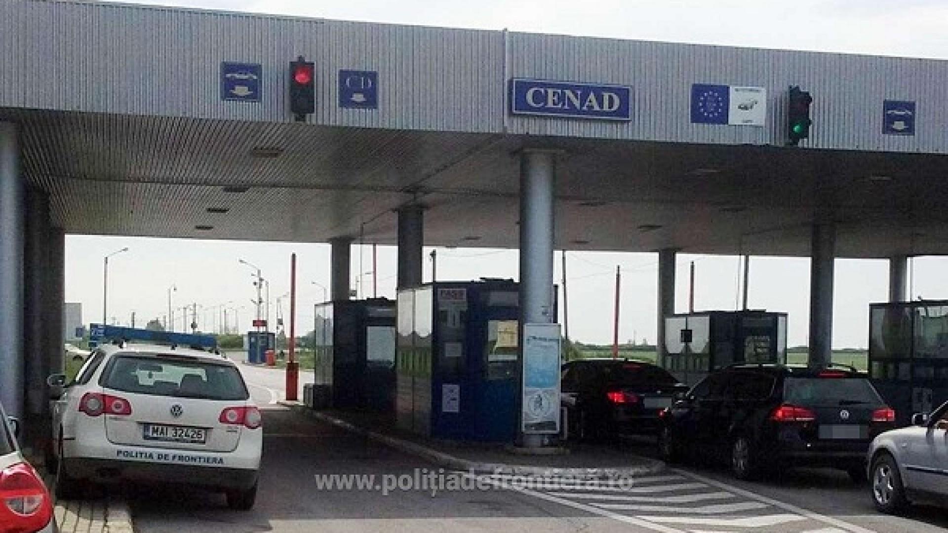 Caz șocant la Vama Cenad: două persoane au încercat să aducă ilegal, în România, patru cadavre din Italia