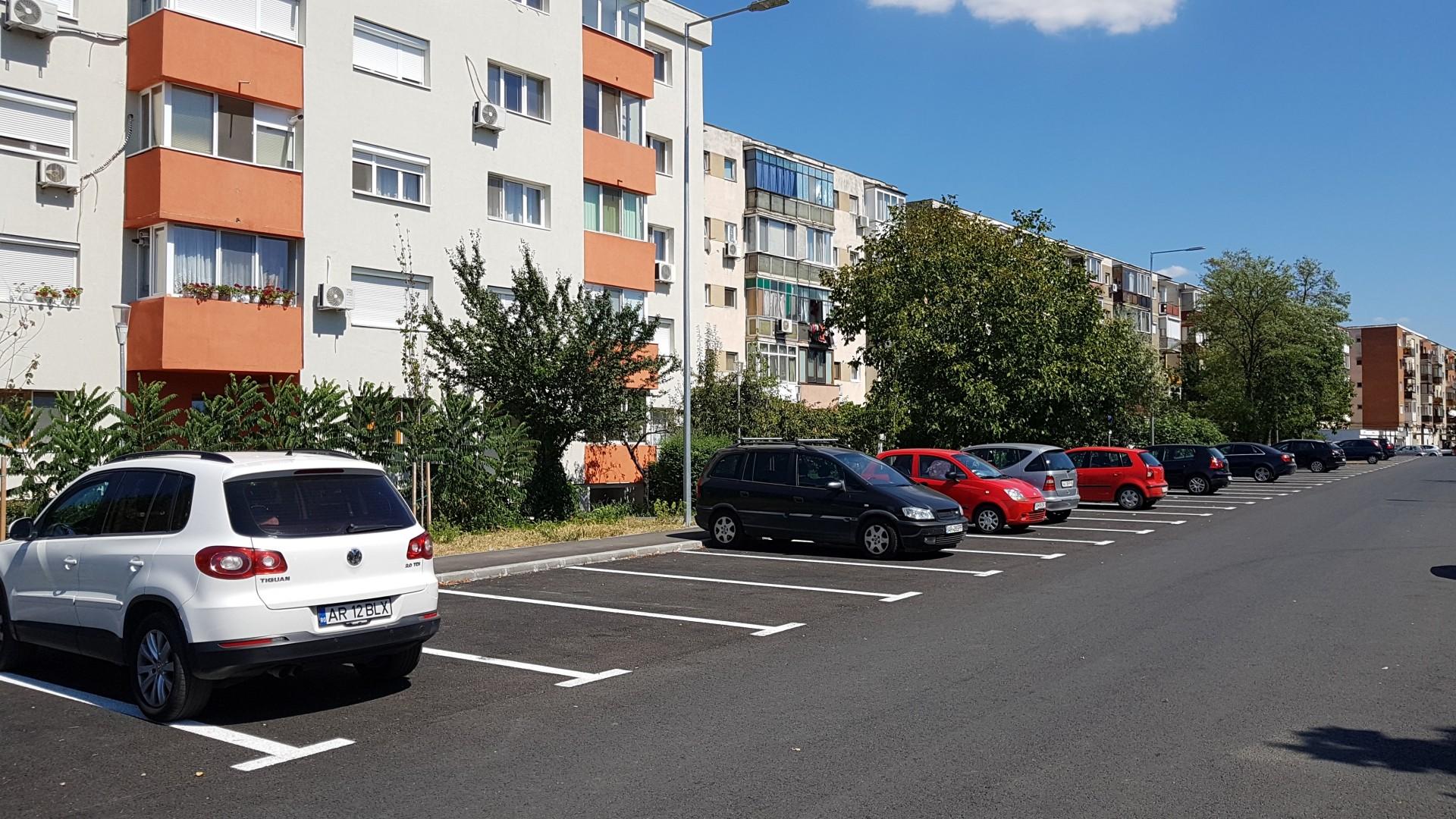 Pregătiri pentru licitația locurilor de parcare din Micălaca