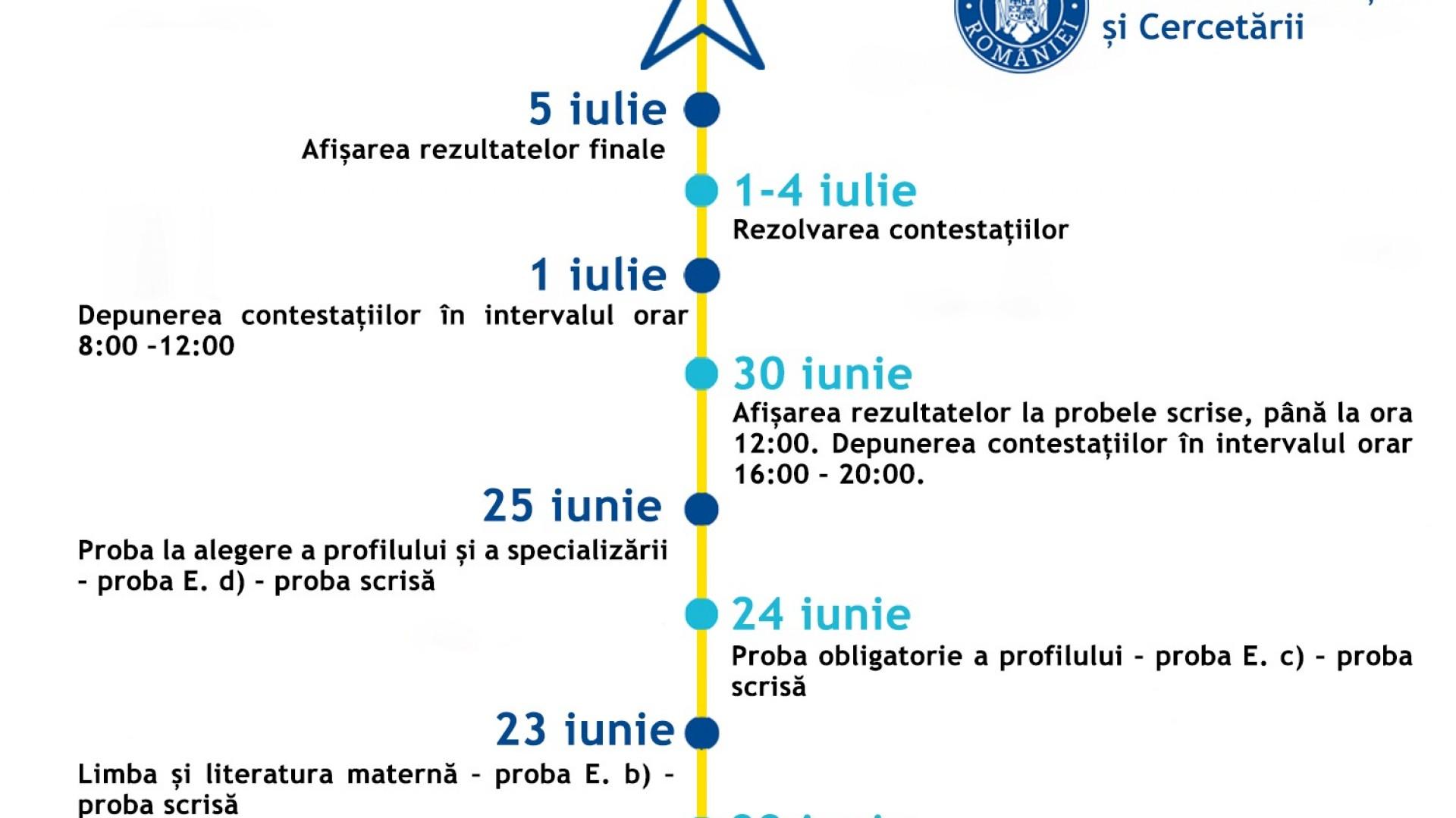 Proba scrisă la Limba și literatura maternă,  din cadrul examenului de Bacalaureat (sesiunea iunie – iulie 2020)