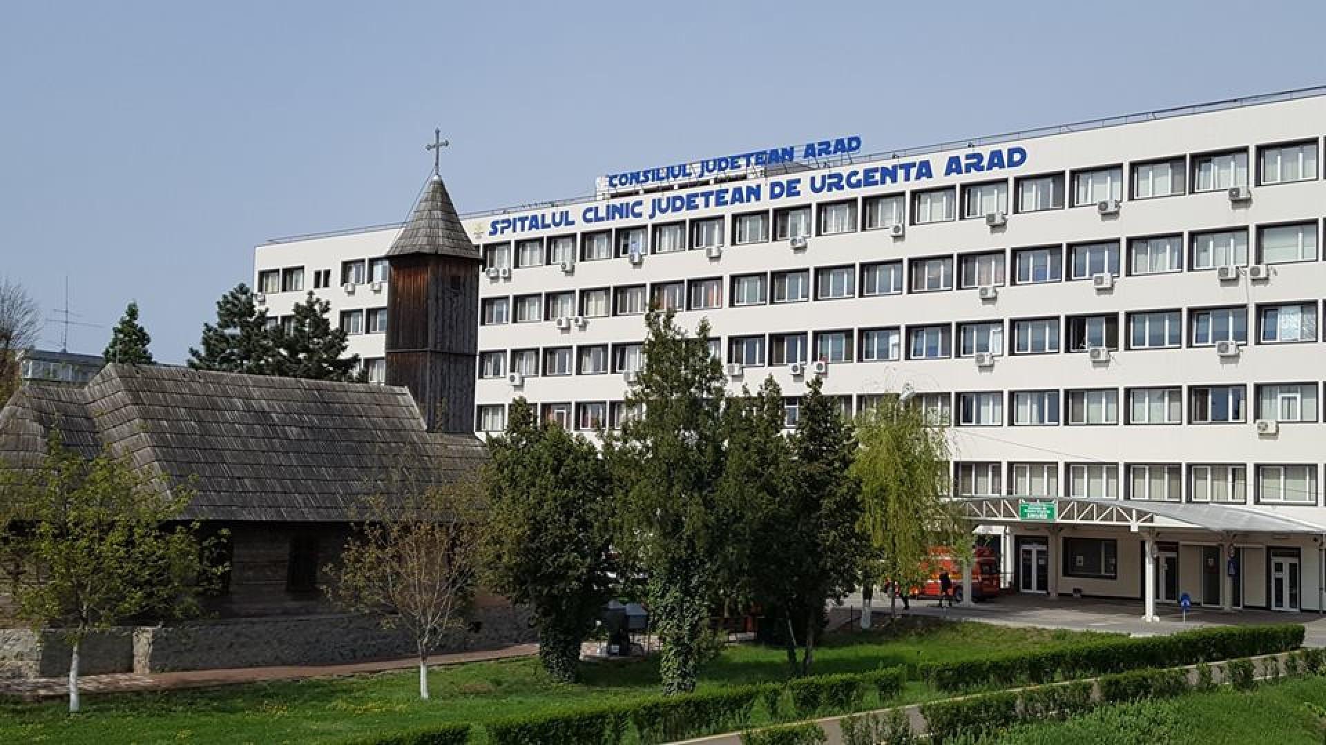 Coronavirus: Noi echipamente medicale pentru Spitalul Județean de Urgență Arad