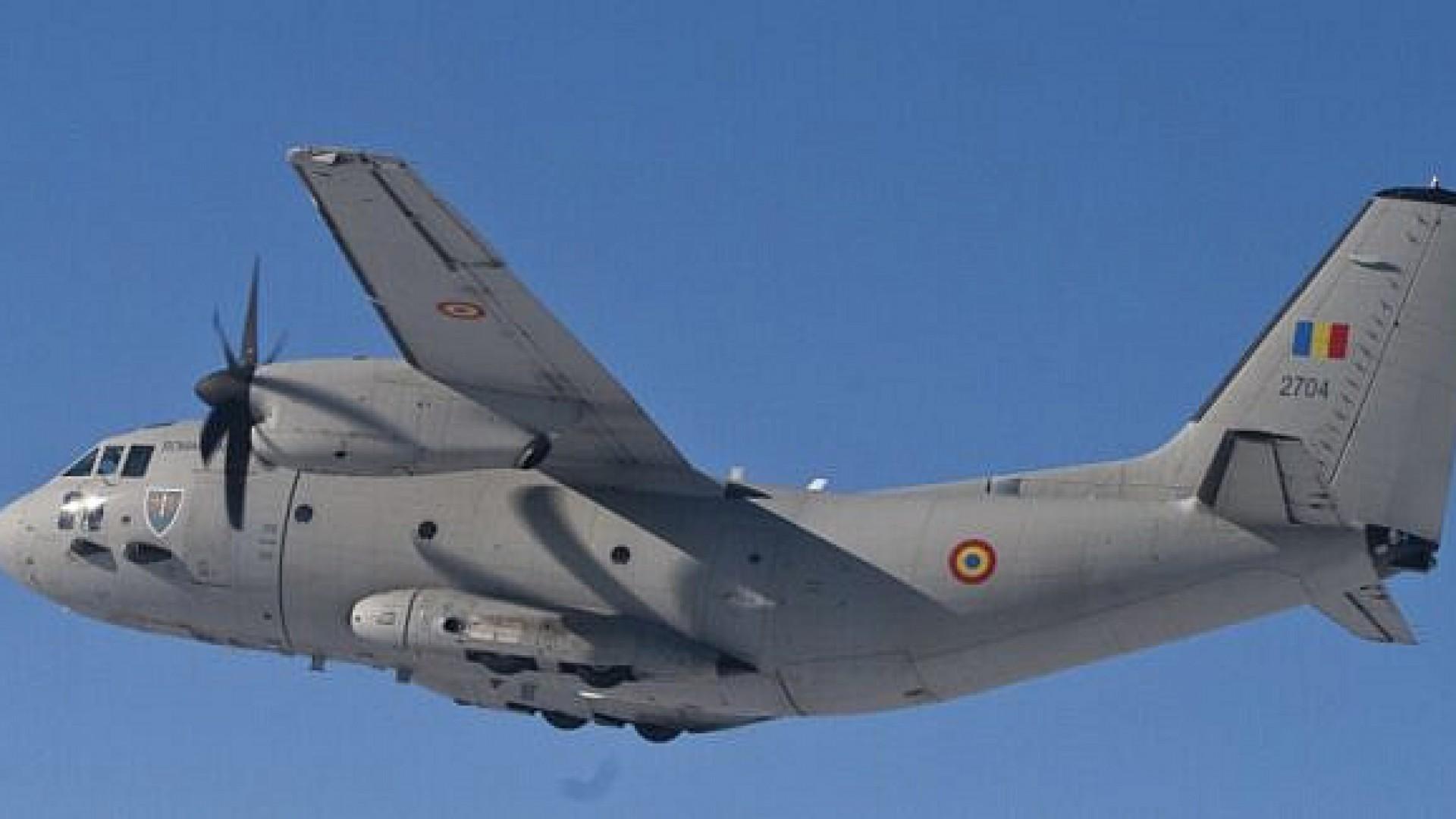 Două aeronave militare aduc materiale sanitare din Turcia